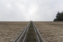 Never ending stair - stock photo