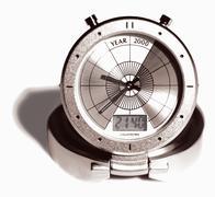 Millennium clock - stock photo