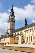 Jasna Gora sanctuary in Czestochowa, Poland - stock photo