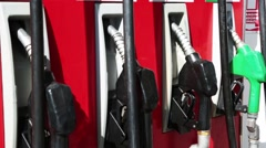 Fuel Pump Close-Up View - stock footage