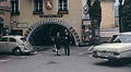 Austria 1967: old couple walking in a small town Footage