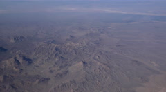 Mountains in the desert in Iraq 2 - stock footage
