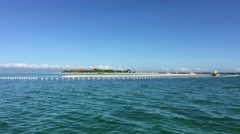 Sailing around Virgin Island Stock Footage