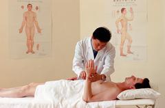 Acupuncture session Kuvituskuvat