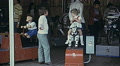 Austria 1970s: children playing in the arcade HD Footage