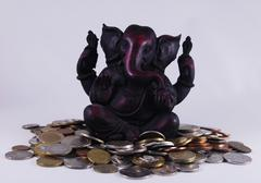 God ganesh with offerings Stock Photos