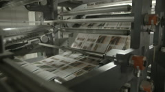 Rolling paper Stock Footage