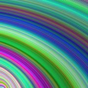 Fast colors - abstract computer generated art - stock illustration