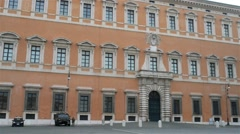 Lateran Palace in Rome, Italy Stock Footage