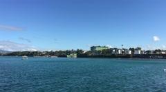Tagbilaran harbour Stock Footage