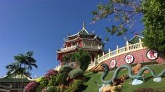 Cebu Taoist Temple Stock Footage