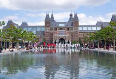 Stock Photo of View of Rijksmuseum, Amsterdam