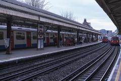 Stock Photo of Barons Court station