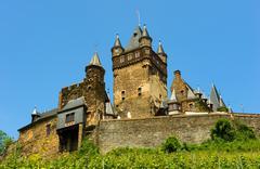 Cochem castle Stock Photos