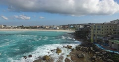 270º Aerial View Of Bondi Stock Footage