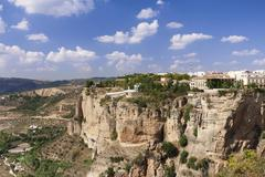 Asa de la Caldera Tajo Gorge Ronda Malaga province Andalucia Spain Europe Stock Photos