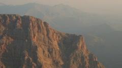 Aerial Mountain Montana Sunrise 012 Stock Footage
