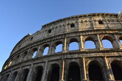 Colosseum Exterior - stock photo