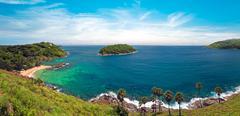 Beautiful nature panorama of Thailand, Phuket - stock photo