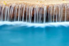 Fresh water natural background Stock Photos