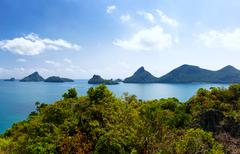 Travel destinations in Thailand Stock Photos