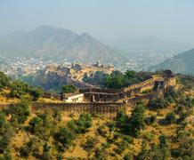 Amber Fort in Jaipur, India - stock photo