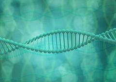 DNA helix structure. - stock illustration