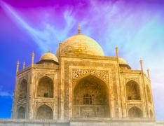 Stock Photo of Islam mosque ancient architecture