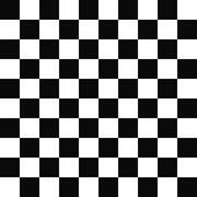 Seamless black and white checkered pattern Stock Illustration