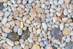 Stone rubble or pebbles texture abstract for background - stock photo