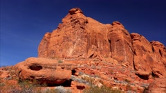 Snow Canyon in St. George, Utah Stock Footage