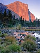 El Capitan sunset, California Kuvituskuvat