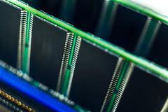 Random access memory - stock photo