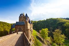 Gates of Eltz castle, Germany Mayen-Koblenz Stock Photos