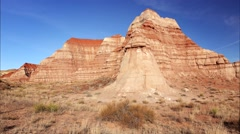 Vermillion Cliffs in the Grand Staircase-Escalante National Monument Stock Footage