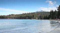 South Lake Tahoe, Meeks Bay, California Stock Footage