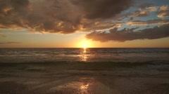 Captiva Florida Sunset Timelapse Stock Footage