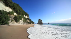Te Whanganui-A-Hei (Cathedral Cove), New Zealand Stock Footage