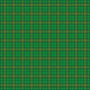 Green Irish Tartan Fabric Stock Illustration