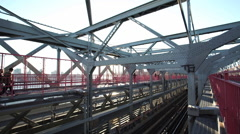 Williamsburg Bridge - stock footage