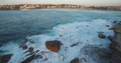 Rising Sun of Bondi Beach Stock Footage