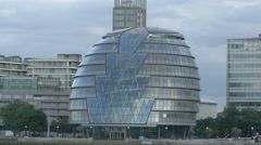 The City Hall of London Stock Footage