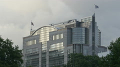 America Square Conference Centre in London - stock footage