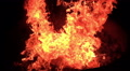 3D Stereoscopic Fire Set 21 R Eye 1000fps Slow Motion Footage