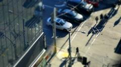 San Francisco: Fremont & Mission Tilt Shift Stock Footage