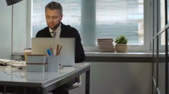 Workday Routine - stock footage