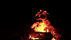 3D Stereoscopic Firewood Set 08 R Eye 1000fps Slow Motion Stock Footage