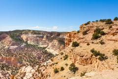 Stoned hills in Devil's Canyon Emery County Stock Photos