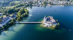Castle Ort, Gmunden, - stock photo