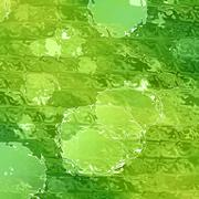 Abstract green nature background Stock Illustration